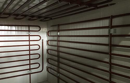 重庆合川排管冷库安装