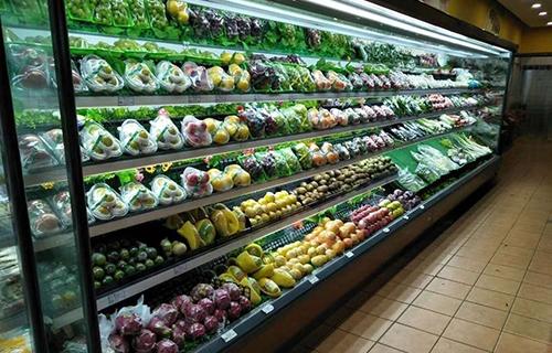 超市安装超市风幕柜