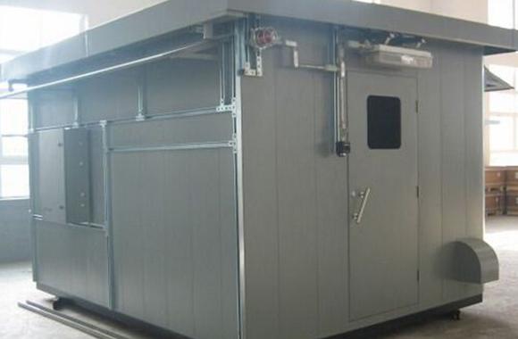 合川移动式防爆冷库安装