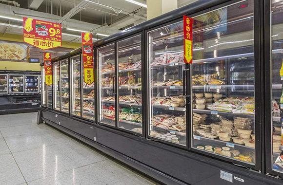 超市风幕柜