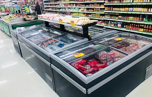 自贡超市组合岛柜