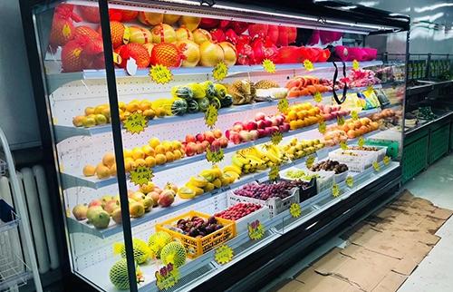 自贡超市水果保鲜设备